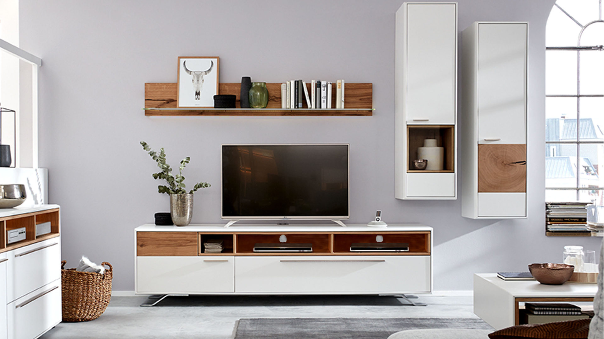 interliving wohnzimmer serie 2102 wohnkombination 510802m